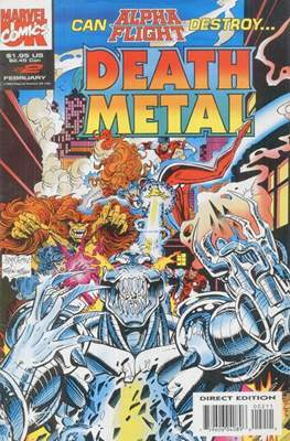 Death Metal (Comic Book) #2