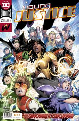 Young Justice (2019-) (Grapa 32 pp) #21