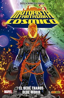 Motorista Fantasma Cósmico: El bebé Thanos debe morir. 100% Marvel HC