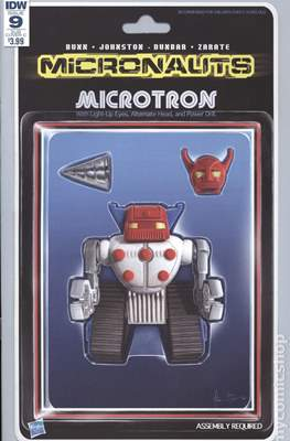 Micronauts (2016-2017 Variant Cover) (Comic Book) #9.3