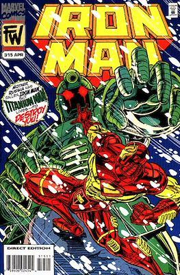 Iron Man Vol. 1 (1968-1996) (Comic book) #315