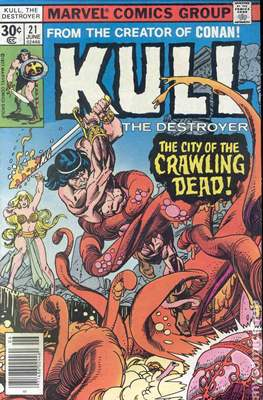 Kull the Conqueror / Kull the Destroyer (1971-1978) (comic-book) #21