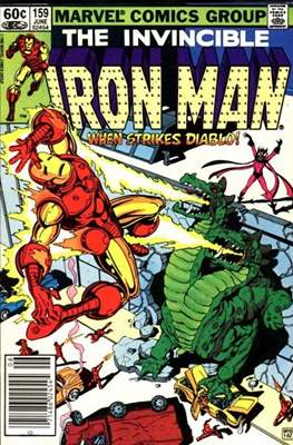 Iron Man Vol. 1 (1968-1996) (Comic book) #159