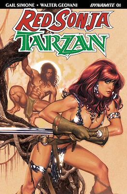 Red Sonja / Tarzan (2018) #1