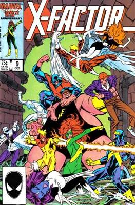 X-Factor Vol. 1 (1986-1998) (Comic Book) #9