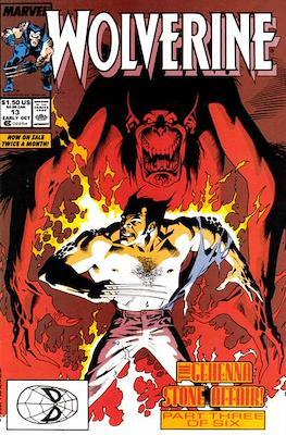 Wolverine (1988-2003) (Comic Book) #13