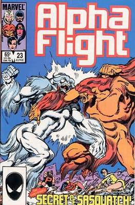 Alpha Flight vol. 1 (1983-1994) #23