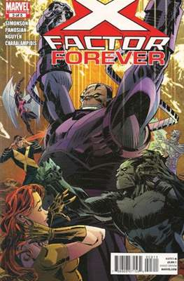 X-Factor Forever (Comic Book) #3