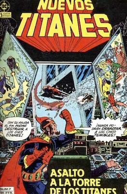 Nuevos Titanes Vol. 1 (1984-1988) (Grapa 40 pp) #7