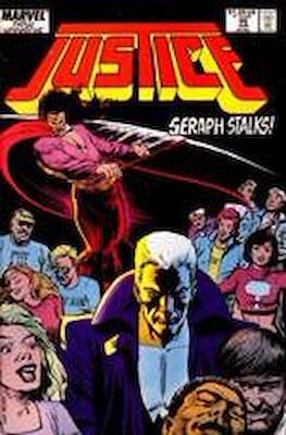 Justice. New Universe (1986) (Grapa.) #20