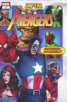 Empyre - The Avengers (Comic Book) #1