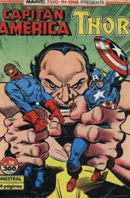 Capitán América Vol. 1 / Marvel Two-in-one: Capitán America & Thor Vol. 1 (1985-1992) (Grapa 32-64 pp) #74