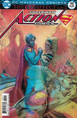 Action Comics Vol. 1 (1938-2011; 2016-) (Comic Book) #988
