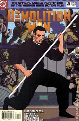 Demolition Man (Comic Book) #3