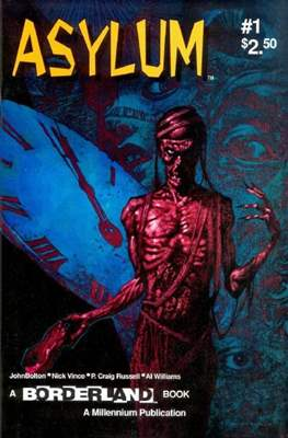 Asylum (Grapa, 26x17, color, 32 pp) #1