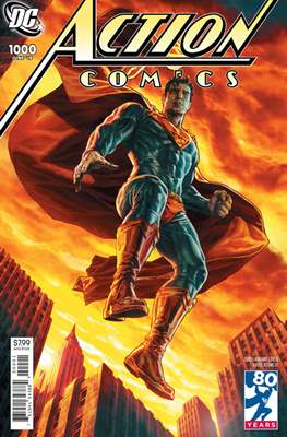 Action Comics Vol. 1 (1938-2011; 2016-... Variant Covers) (Comic Book) #1000.7