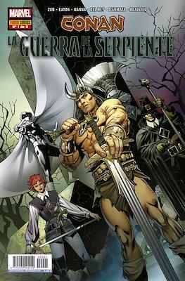 Conan: La Guerra de la Serpiente (Grapa) #1