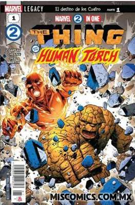 Marvel 2 in One (Grapa) #1