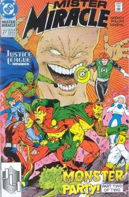 Mister Miracle (Vol. 2 1989-1991) (Comic Book) #27