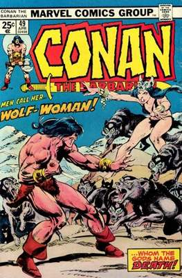 Conan The Barbarian (1970-1993) (Comic Book 32 pp) #49