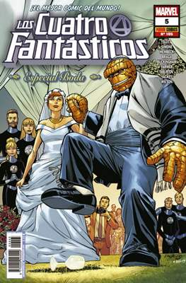 Los 4 Fantásticos / Los Cuatro Fantásticos Vol. 7 (2008-) (Grapa 24-48 pp) #105/5