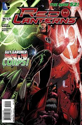 Red Lanterns (2011 - 2015) New 52 #21