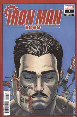 Iron Man 2020 (2020- Variant Cover) #1.1