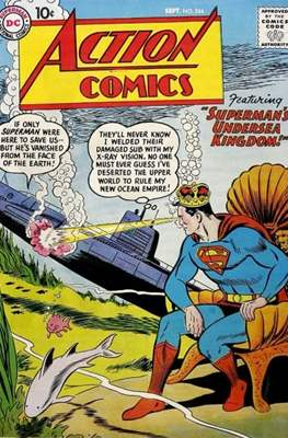 Action Comics Vol. 1 (1938-2011; 2016-) (Comic Book) #244