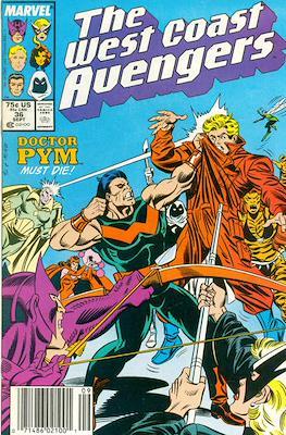 West Coast Avengers Vol. 2 (Comic-book. 1985 -1989) #36