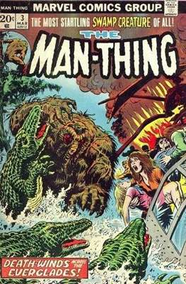 The Man-Thing Vol. 1 (1974-1975) (Comic Book) #3