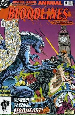 Justice League Europe Annual (grapa) #4