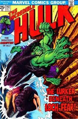 The Incredible Hulk Vol. 1 (1962-1999) (Comic Book) #192