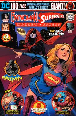 Batwoman/Supergirl: World's Finest Giant
