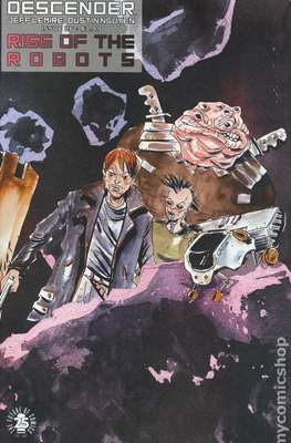 Descender (Variant Covers) (Grapa) #26