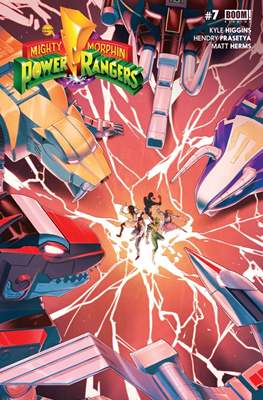 Mighty Morphin Power Rangers (Comic Book) #7