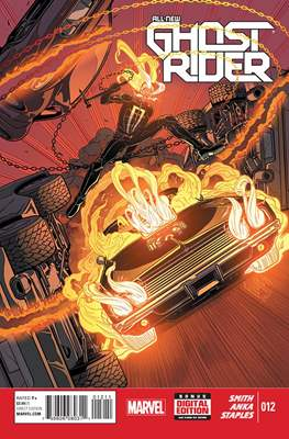 All New Ghost Rider (2014-) (Comic book) #12