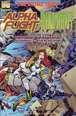 Alpha Flight & Inhumanos. Especial 1999