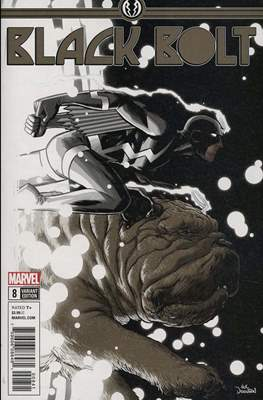 Black Bolt (Variant Covers) #8.2