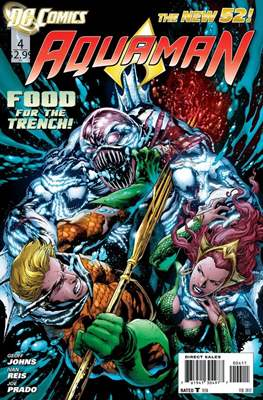 Aquaman Vol. 7 (2011-2016) (Comic-book) #4