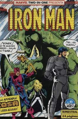 Iron Man Vol. 1 / Marvel Two-in-One: Iron Man & Capitán Marvel (1985-1991) (Grapa, 36-64 pp) #41