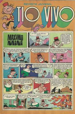 Tio Vivo. 2ª época (1961-1981) (Grapa) #707