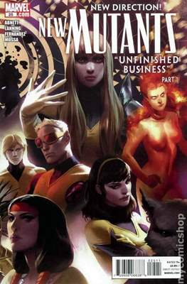New Mutants Vol. 3 (Comic Book) #25
