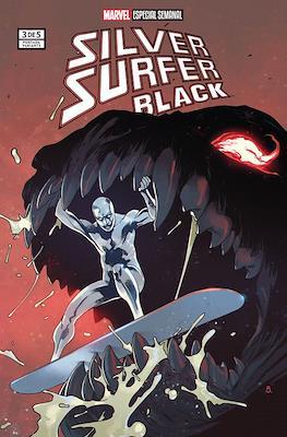 Silver Surfer: Black (Portadas Variantes) (Grapa) #3