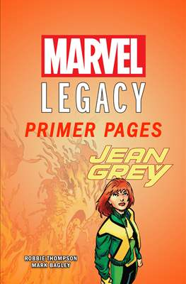 Jean Grey: Marvel Legacy Primer Pages