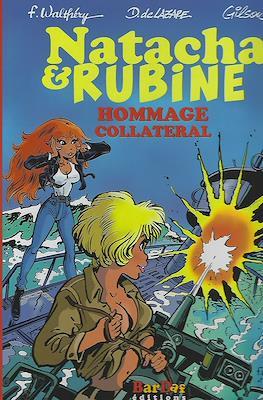Natacha & Rubine. Homage collateral
