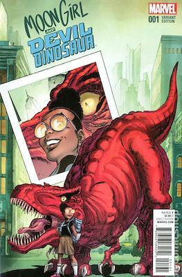 Moon Girl and Devil Dinosaur (Variant Covers)