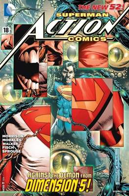 Action Comics Vol. 2 (2011-2016) (Grapa) #18