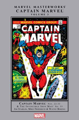 Marvel Masterworks: Captain Marvel (Hardcover) #3