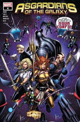 Asgardians of the Galaxy (Comic Book) #4