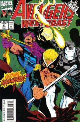 West Coast Avengers Vol. 2 (Comic-book. 1985 -1989) #97